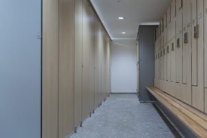 Inline Cubicles and Z Lockers Project