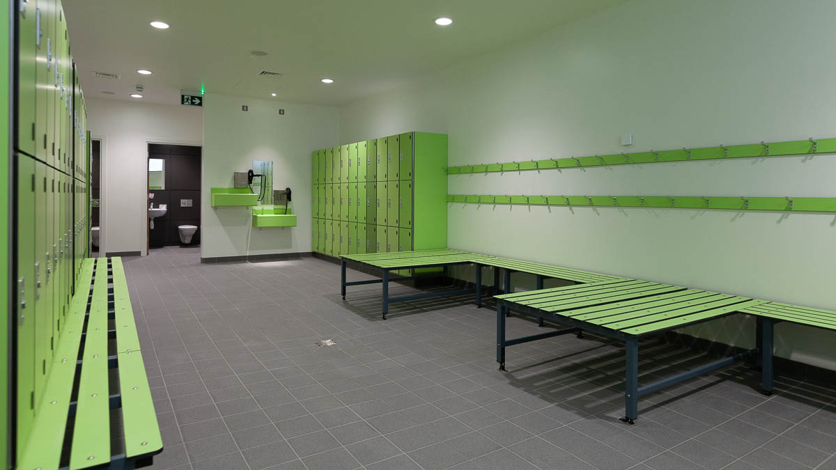 Benches and Wall Hooks