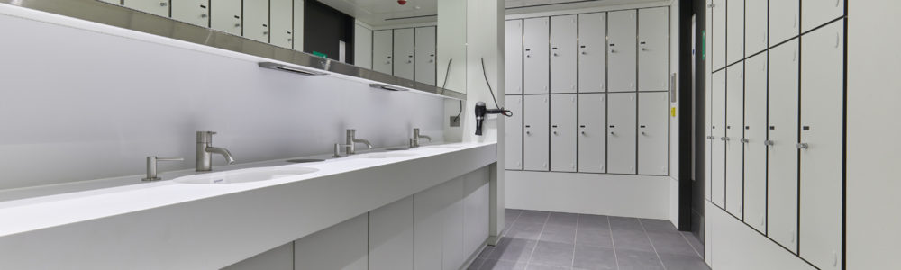 Laminate Heated Two Compartment Lockers